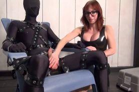 Slave Teased And Getting Handjob