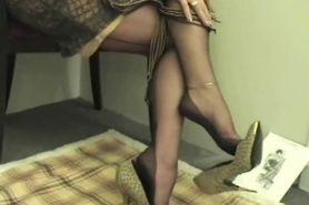 Shoe Dangling & Foot Tease Part 4