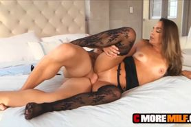 MILF Bobbi Rydell loves big dick in her holes