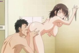 Sensual anime babe gets twat licked