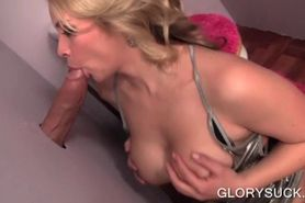 Sex queen tit fucks and sucks big shaft like a gloryhol