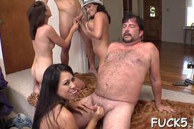 Erotic pussy poundings