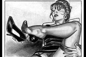 Nude Catherine Zeta Jones foot fetish striptease
