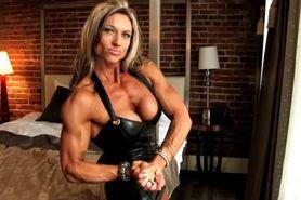 muscle busty femdom woman alpha woman