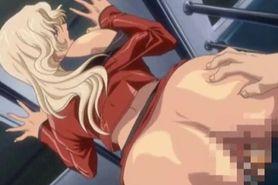 Sensual hentai babe gets fucked