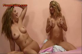 Two Horny Sluts Fuck And Suck