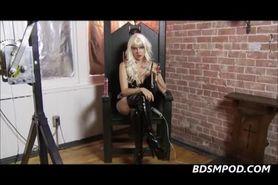 Femdom Starla POV Chastity Instructions