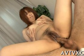 Banging a filthy hot Asian pussy