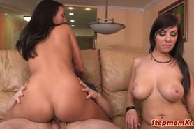 Jazmyn and Stephani Moretti FFM threeway