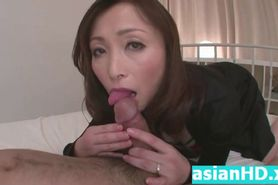 Hot ass asian MILF hot creampie