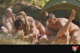 groep sex op de camping