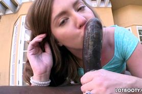 Big ass Maddy OReilly interracial anal
