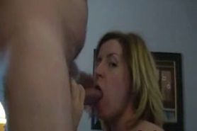 Husband face fucking his wife