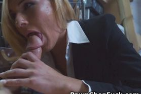 Blonde MILF Blowjob And Doggystyle