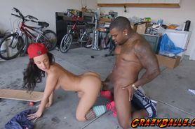 Hottie chick Jada Stevens getting banged