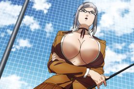 Prison School BD #3 uncensored anime scenes