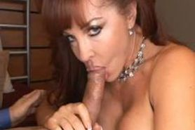 Hot redhead MILF Sexy Vanessa takes it up the ass