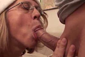 MILF Marga Fucks Her Lover With Strapon