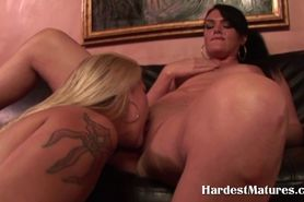 Mature housewives strapon fucking