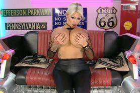 Bimbo Candy Charms chat on TV 05