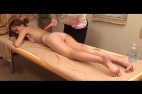 Asian Lesbian Oil Massage