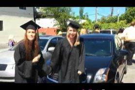 Creampie On Hood Of Car At Graduation