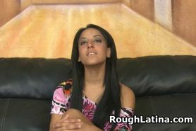 Huge Nipple Latina Pounded In Face