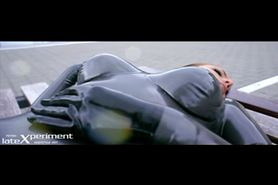 Valerie Tramell in Hot Latex Catsuit