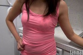 Latin girlfriend hottie wants punishment
