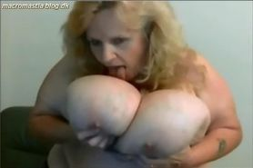 Cam; unbelievable breasts