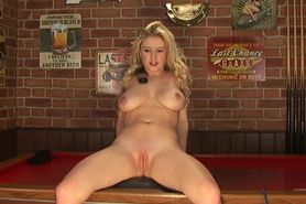Bimbo Brook Little nude on TV 02