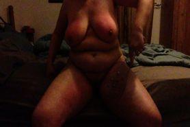 Self spanking Part 3