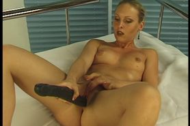 Teen with Dildo