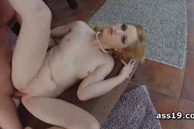 Rosella Visconti gaps butt hole after deep anal