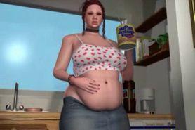 3rd Art Nadia getting fat