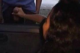 HJ ouside car