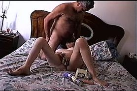 Wife Sucking Cock and Masturbating