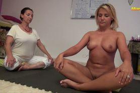 Nude Yoga Lesson