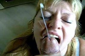 my amateur girlfriend getting a facial