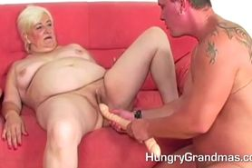 Fat Granny Fucked By Stud