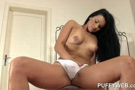 Holly Peach Rubs Her Pussy