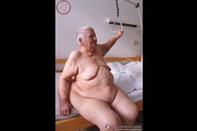 OmaGeiL Fatty Horny Granny Pictures Compilation