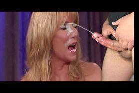 Kathie Lee takes a facial