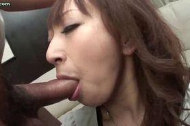 Shy asian gets tight asshole fucked