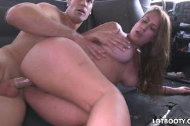 Big butt Skyler Luv banging in bus