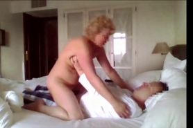 Naughty Granny Finds Cock Online