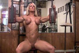 female bodybuilder huge labia
