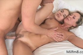 Cutie Lia Lor threesome with hot stepmom
