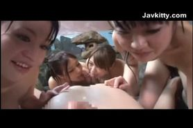 One Man And A Whole Bunch Of Japanese Girls
