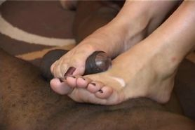 Hot IR Foot Job